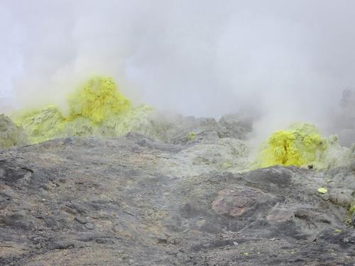 川湯温泉 強酸性の硫黄泉
